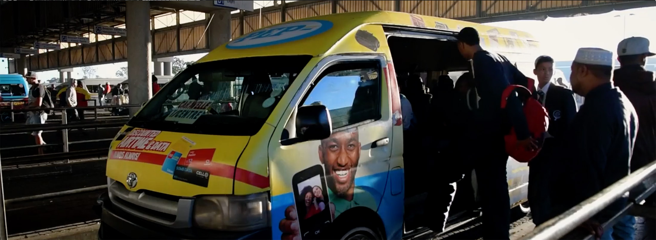 Taxi Commuter Video Image