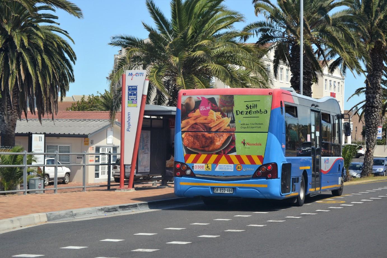 Nandos Bus Back Image