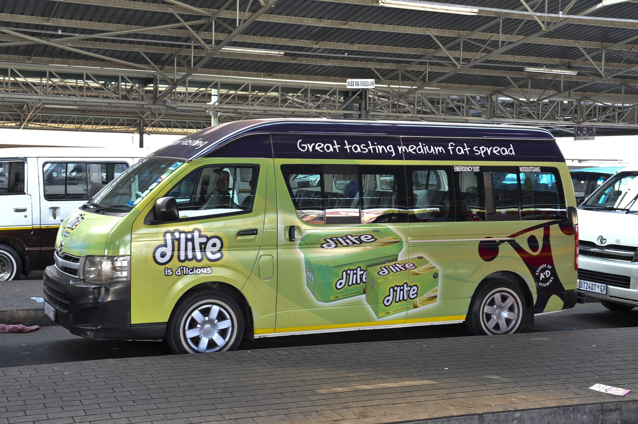 D Lite Branded Taxi