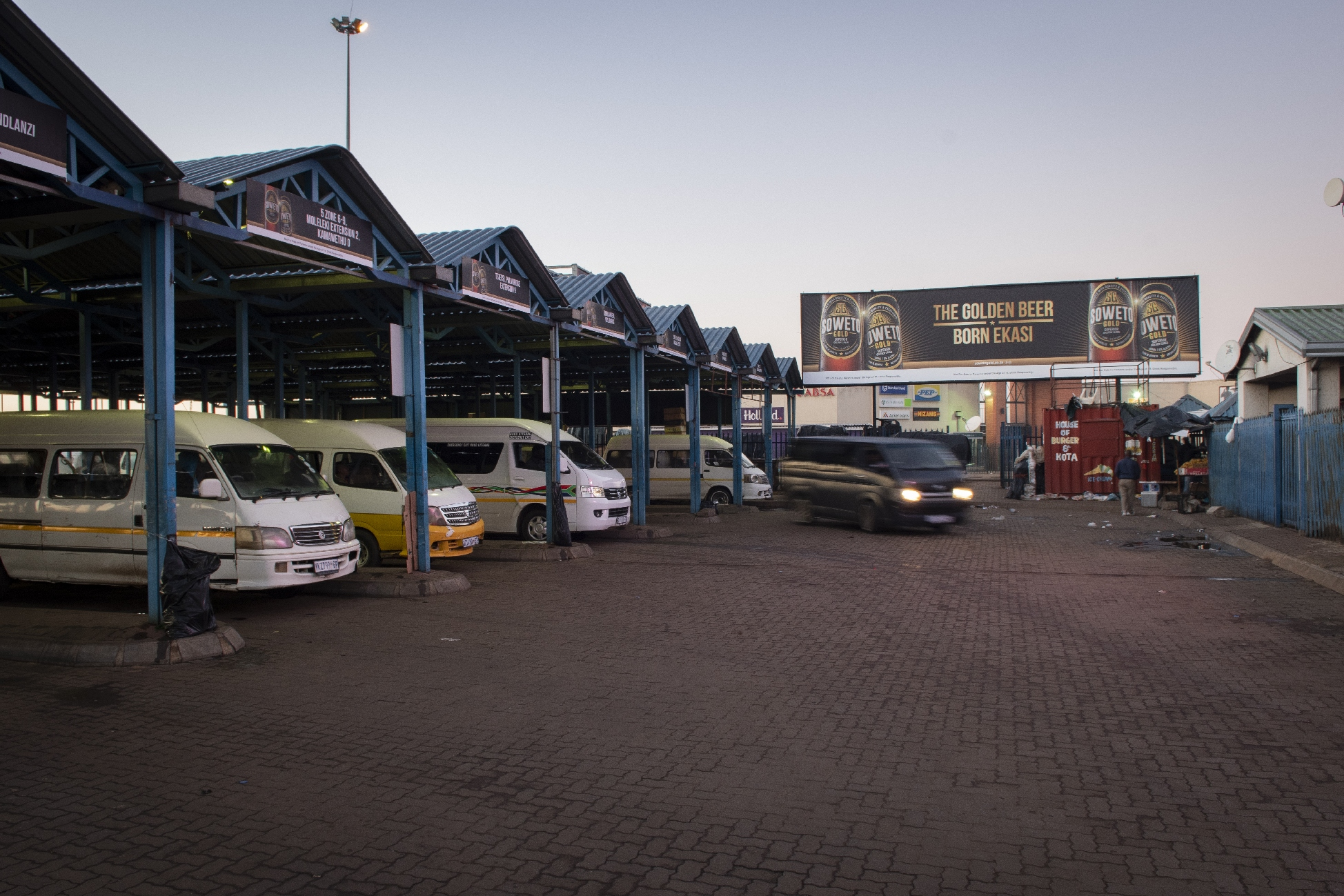 Soweto Gold Taxi Rank
